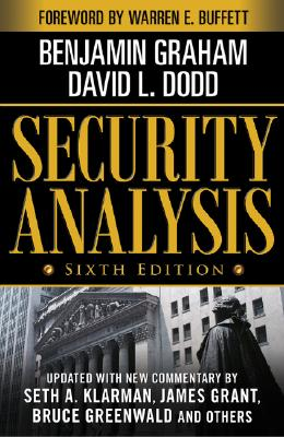 Security Analysis By Graham, Benjamin/ Dodd, David